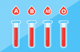 Different types of blood. Image: Pixabay