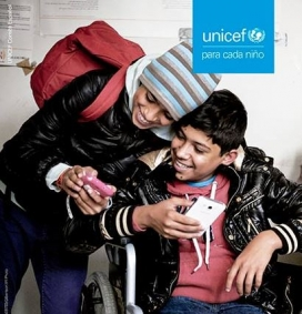 Unicef analyses how the digital gap affects on children.   Source: UNICEF