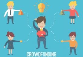 Crowdfunding. Image: Wikipedia