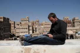 Mikel Ayestaran working in Sana'a (Yemen) - Image: Mikel Ayestaran