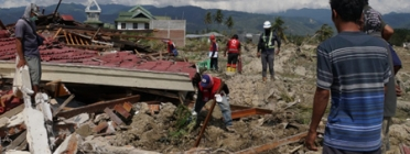 NGOs act to address the emergency caused by the earthquake and tsunami in Indonesia