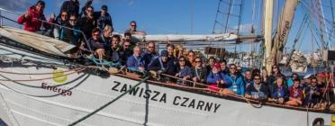 Euroasia' participants in Puck, (Poland).     Source: Europak - Eurosea