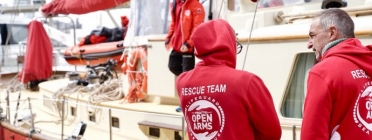 The Open Arms is one of these three rescue organisations which are joining efforts through the alliance #United4Med.