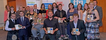 Winners of the Scottish Charity Awards 2017. Photo: SCVO