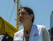 Paula Farias, Operational Manager for the Mediterranean for MSF / Photograph: MSF