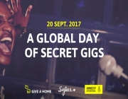 A global day of secret Gigs.   Source: Amnesty International