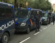 Spanish national police. Photo: Youtube