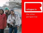 Refugee.tv team and logo