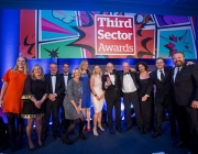 Third Sector Awards ceremony. Photo: TSA
