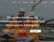 Workeer: A digital job bank giving work to refugees in Germany / Image: workeer.de