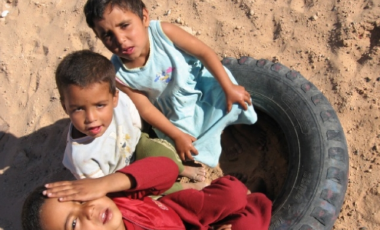 The organization has launched a crowdfunding campaign through goteo.org, to buy, ship and distribute food to the Sahrawi families through the Sahrawi Red Crescent.