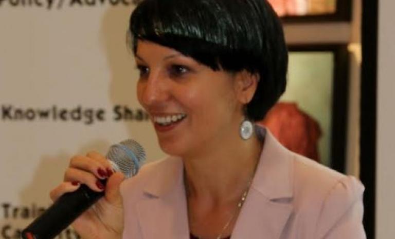 Cristina Rigman, president of CEV.