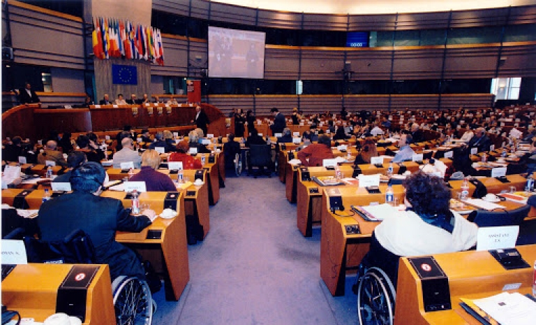 The European Disability Forum is advocating for a disability inclusive response from EU and international organisations.