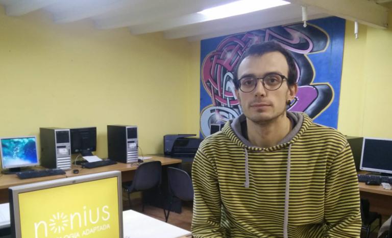 Fèlix Casanellas, winner of the m4Social Inclusive Housing Challenge.