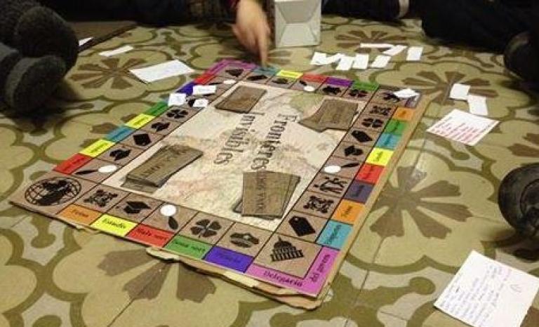 Joc de taula Fronteres Invisibles.