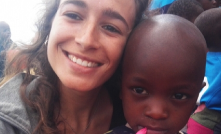Patricia Calvo has been repeating the experience in Tanzania for five years.