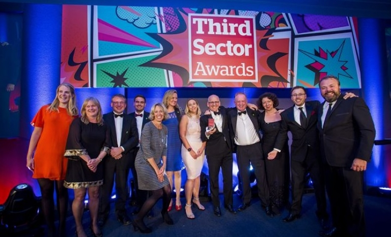 Third Sector Awards ceremony. Photo: TSA
