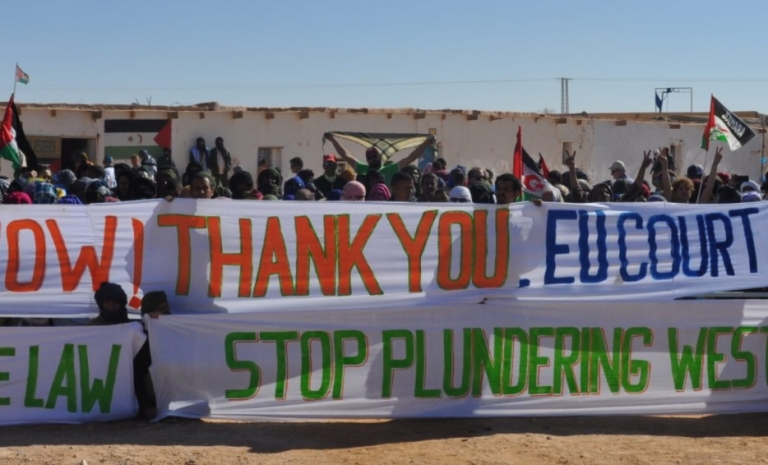 Countries and companies who deal with Morocco in exploiting the Saharawi resources are pushing Morocco to more human rights violations.