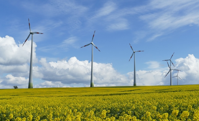 Wind Turbine. Photo: Pixabay