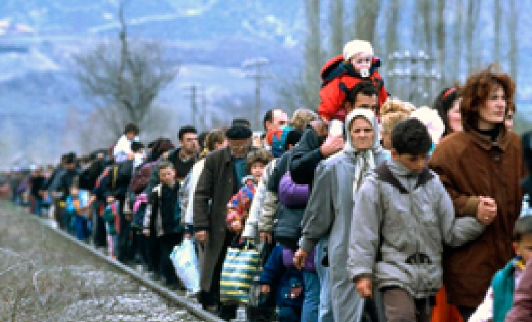 The university community is involved with the refugees