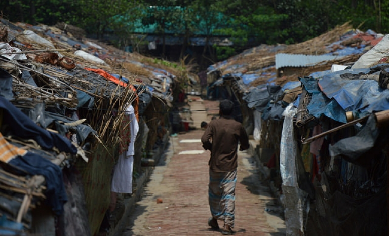 Rohingya people, a chased minority in Myanmar. Photo: European Comission DG, Flickr