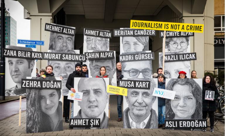 Members of Amnesty International