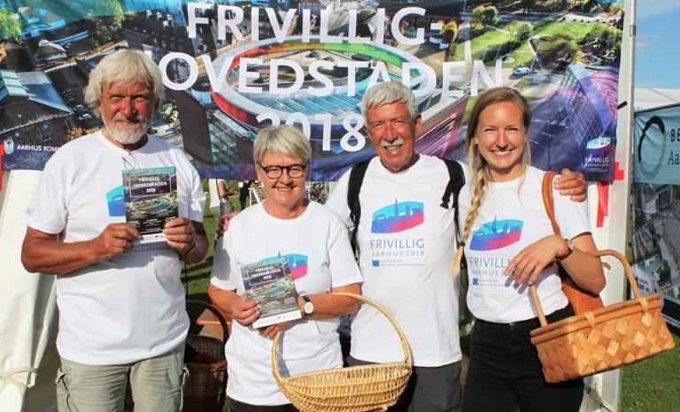 Volunteers of Aarhus 2018.      Source: Aarhus 2018