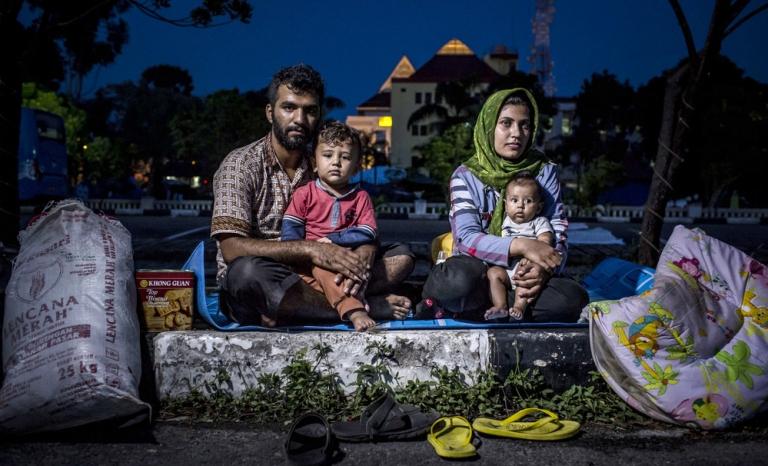 Encounter with asylum seekers