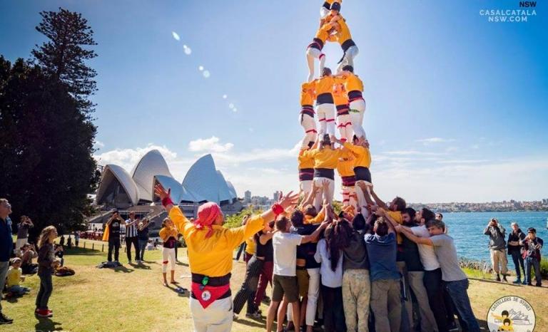 A Kangaroos' performance in Sydney.    Source: Joel Mesas