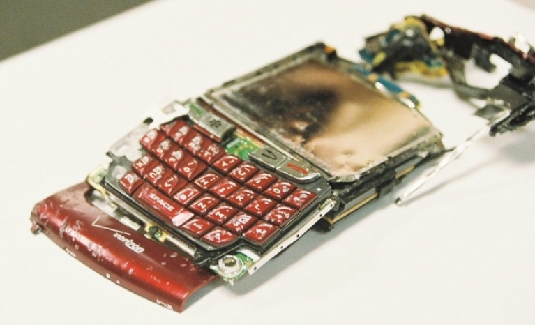 The manufacture of new smartphones has the greatest environmental impact.