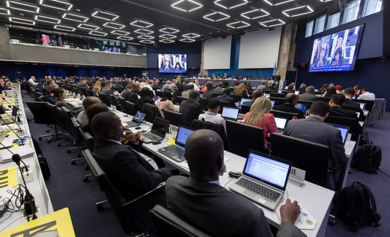 2017 Council of the International Telecommunications Union, which organizes the World Telecommunications and Information Society Day. Photo: ITU Pictures (Flickr)