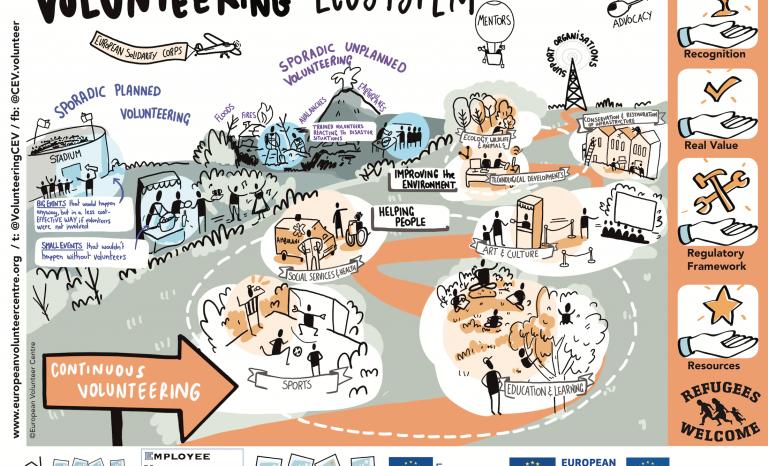 Volunteering ecosystem