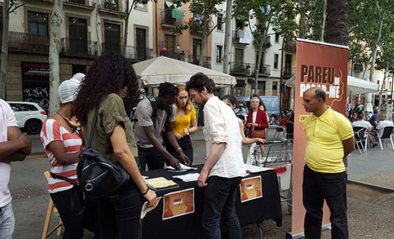 This report is part of the 'Pareu de parar-me' campaign of SOS racism.