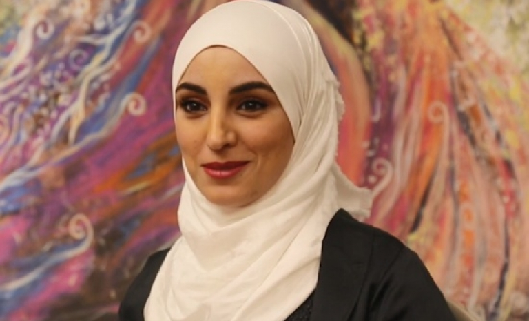 Alaa, Syrian migrant
