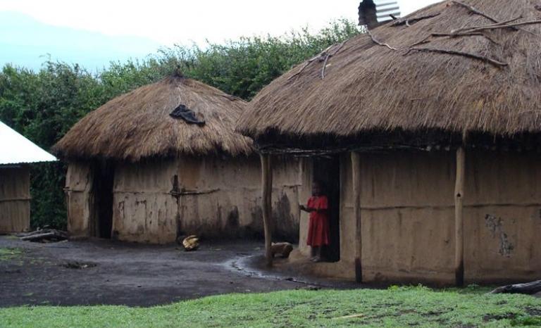 The village of Tanzania where the NGO works