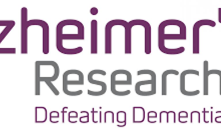 Alzheimer's Research UK Logo. Image: Wikimedia