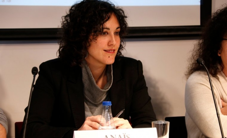 Anaïs Franquesa is a criminal lawyer specializing in human rights and social movements.