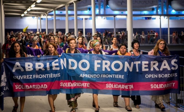 Obrim Fronteres rally