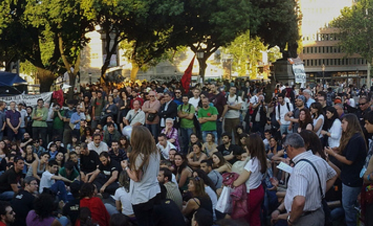 Assembly Pl. Catalunya - Barcelona