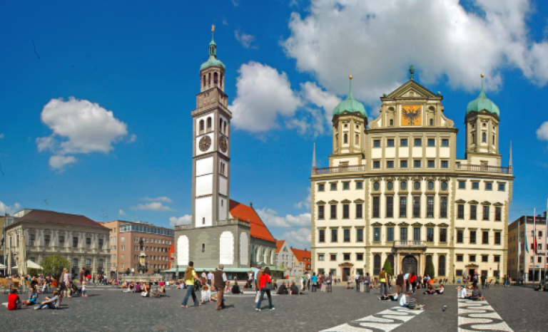 Augsburg will host the conference.   Source: Wikipedia