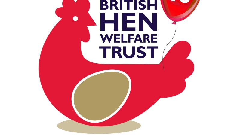British Hen Welfare Logo. Photo: BHWT