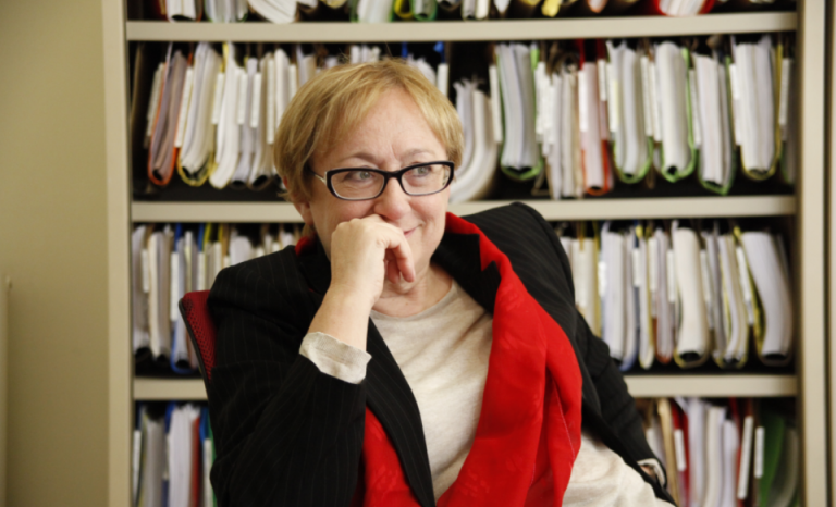 Isabel Baixeras, the legal expert who drafted the injunction