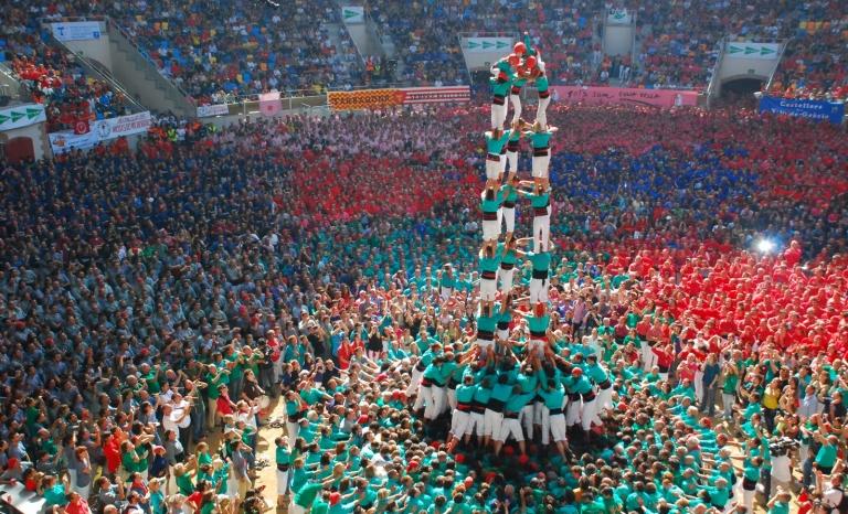 Contest of castles at Tarragona