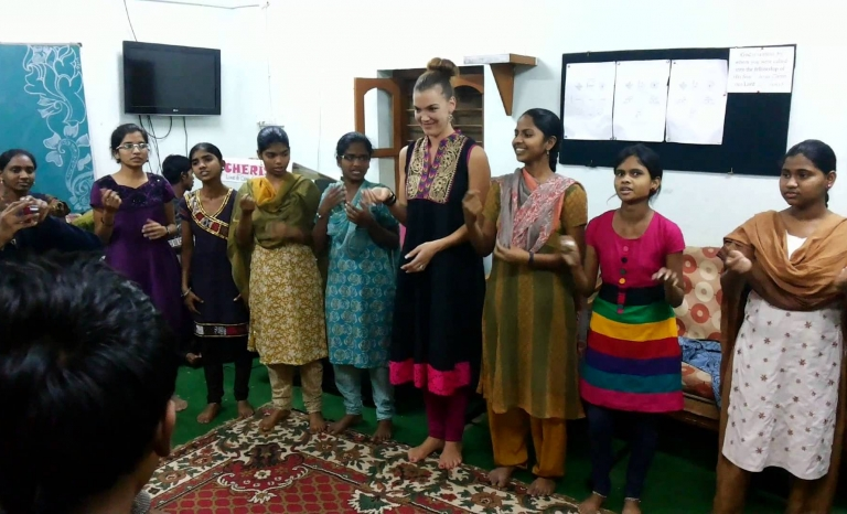 Daily activity at the orphanage. Photo: Cherish Foundation