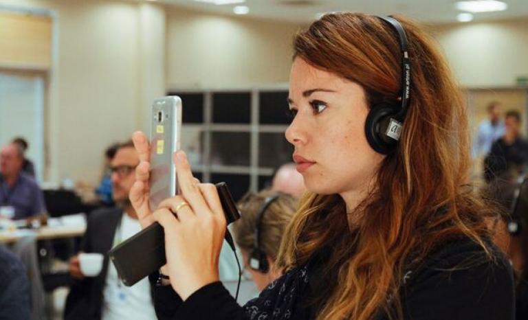 Claudia Orlandini, LIFE communications officer