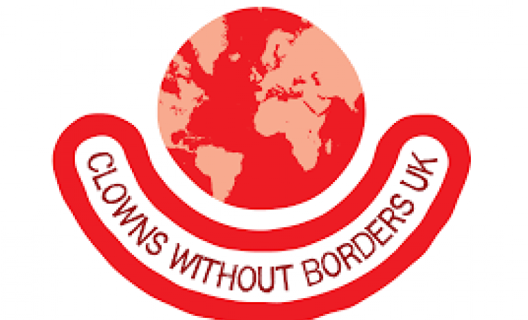 Clowns Without Borders Logo. Image: Magenta Associates