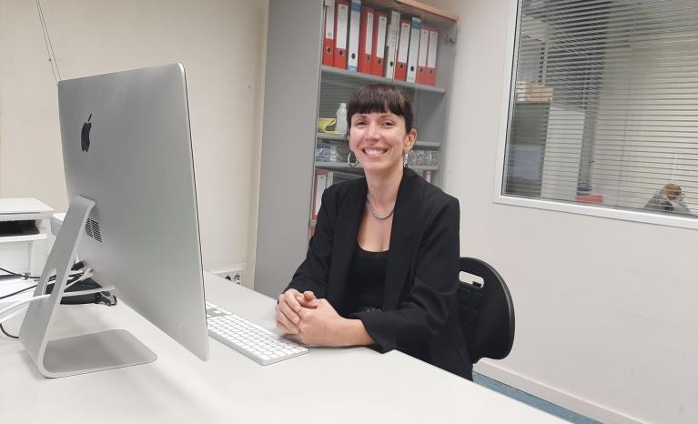 Laura Lorenzi, president of Taula Catalana per la Pau i els Drets Humans a Colòmbia (Catalan Table for Peace and Human Rights in Colombia).