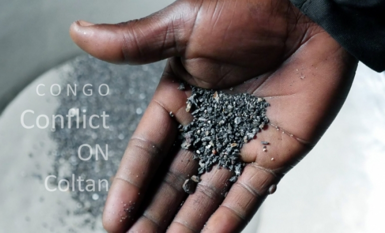 Congo conflict on Coltan.