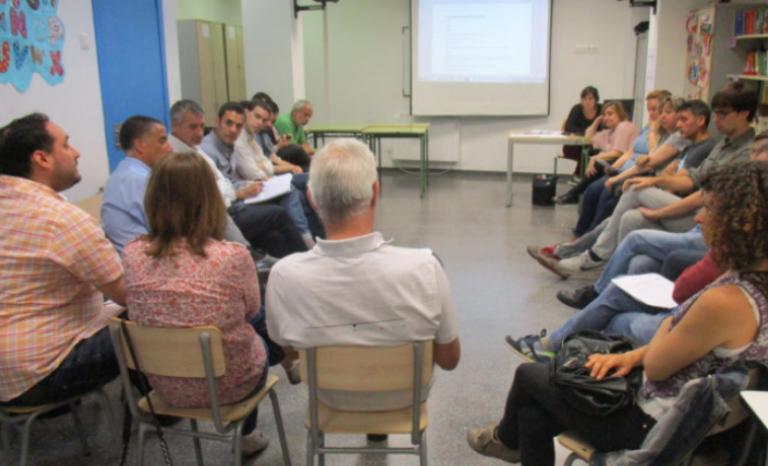 Fundació Comtal training session for volunteers / Photo: Fundació Comtal
