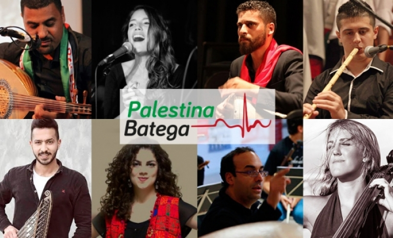 'Palestine Beats' aims to give the voice to the Palestinian people and make them present in Catalonia.